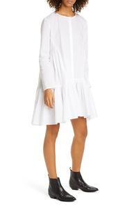 Martel Long Sleeve Cotton Tunic Dress