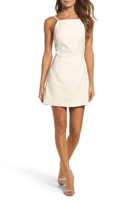 Whisper Light Sheath Minidress