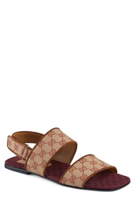 GG Canvas Sandal