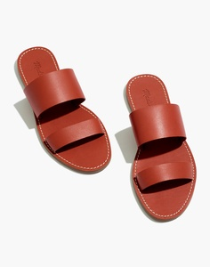 The Boardwalk Double-Strap Slide Sandal